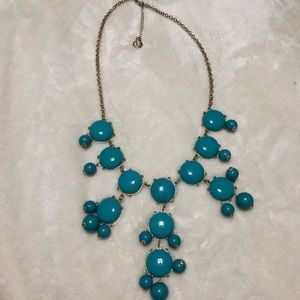 Teal Bubble Necklace